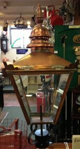 Lamp post top